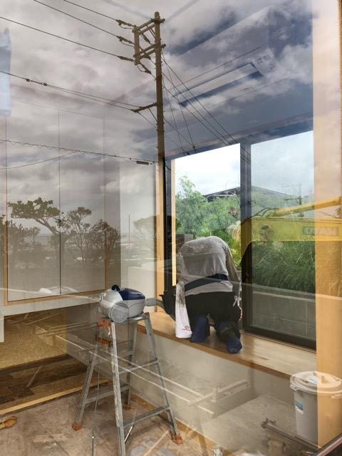 和室窓クリーニング写真