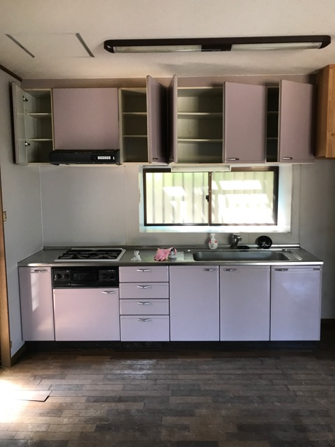 リフォーム前写真(キッチン)
