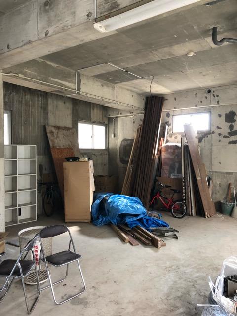 鉄関係撤去後倉庫内写真2