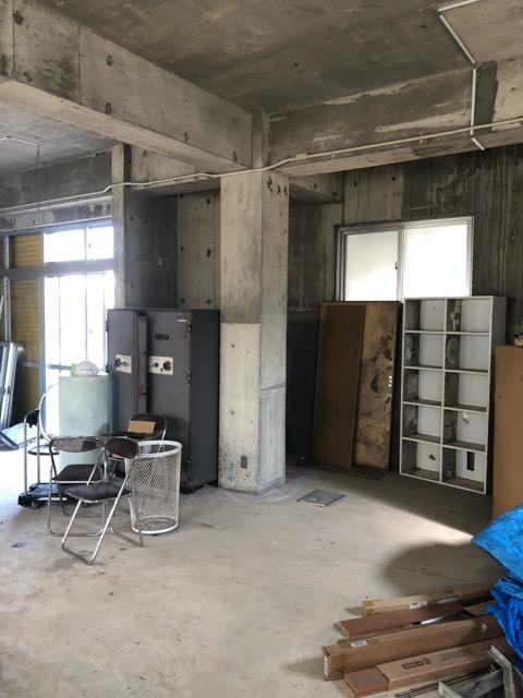 鉄関係撤去後倉庫内写真5