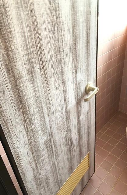 ドアの再利用