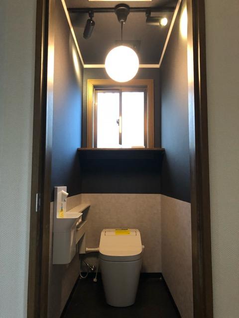 2階トイレリフォーム完成写真