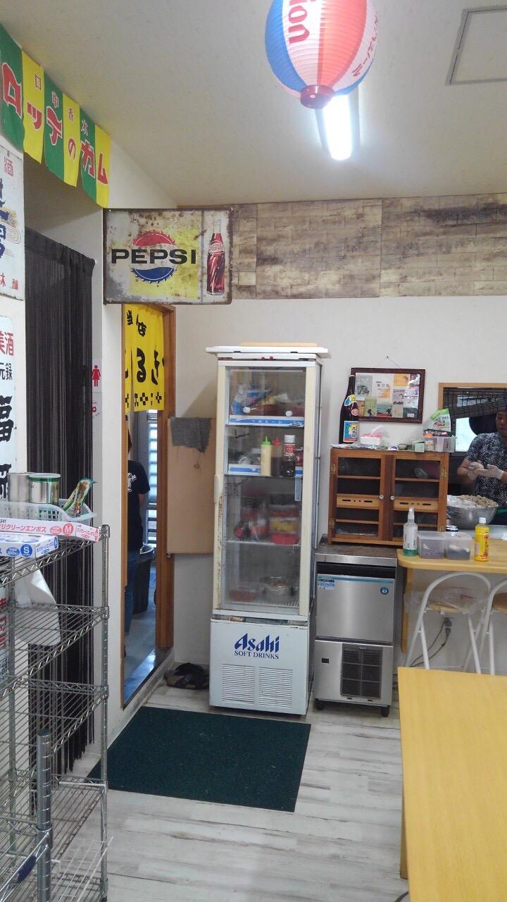 リフォーム前店舗写真(厨房入口)
