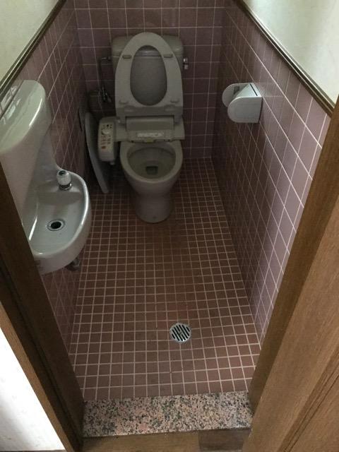 リフォーム前写真(1階トイレの写真)