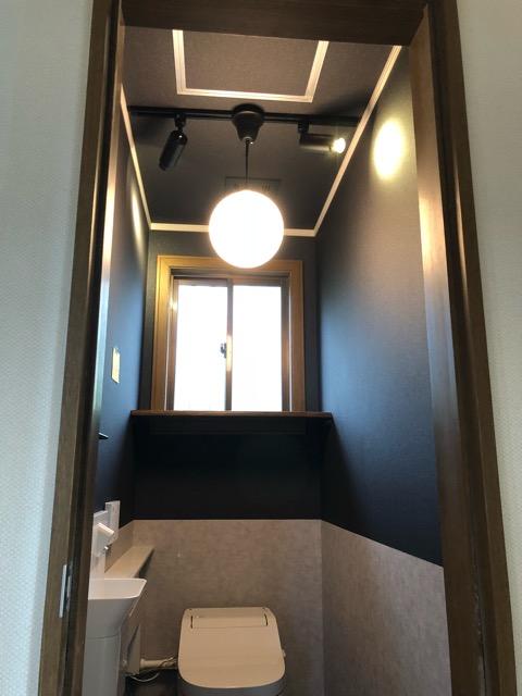 2階トイレ完成写真