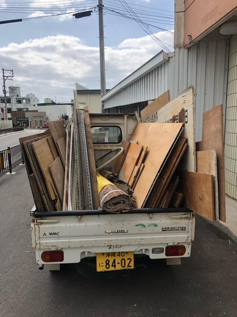 木材移動写真