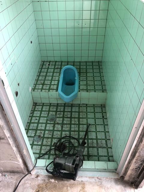 既設トイレ写真