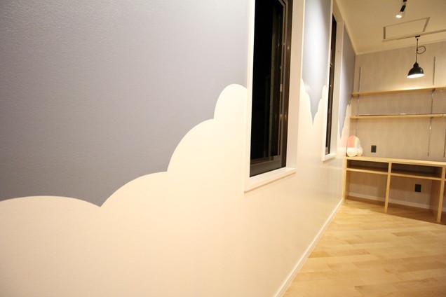 特殊塗装の壁