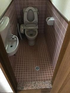 リフォーム前1階トイレ写真