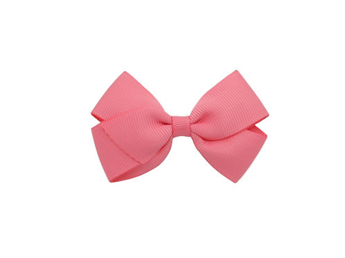Small London Bow - Coral Rose