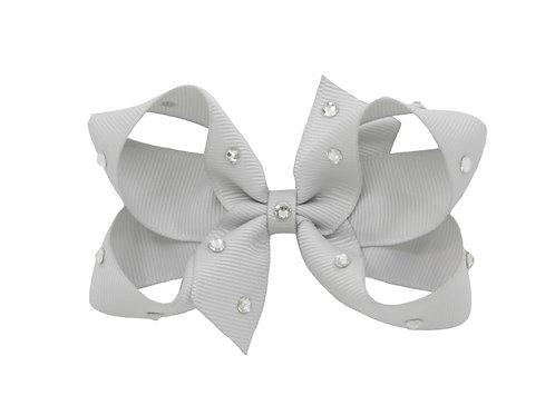 Medium Bow - Shell Grey
