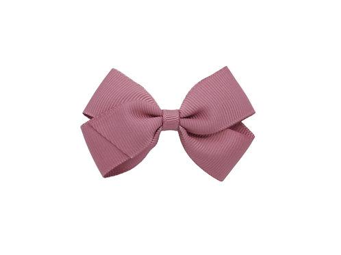 Small London Bow - Rosy Mauve