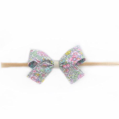 Small Paris Liberty Bow Soft Hairband - Amelie