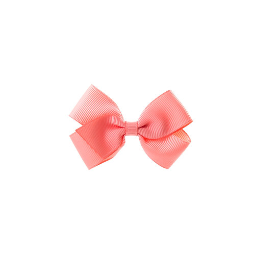 Small London Bow Hair Tie - Light Coral