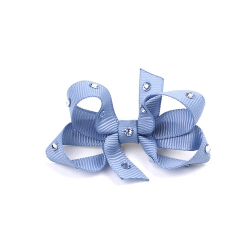 Small Bow - French Blue