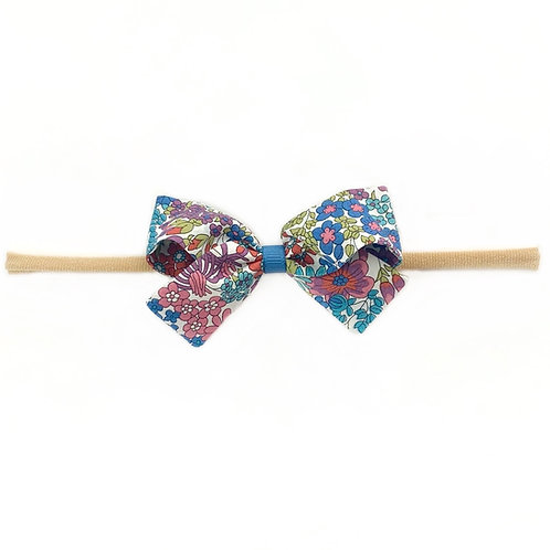 Small Paris Liberty Bow Soft Hairband - Margaret Annie