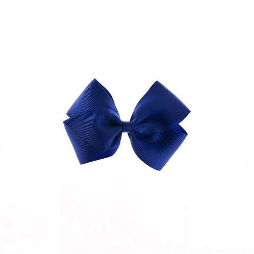 Medium London Bow - Cobalt