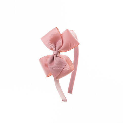 Medium London Bow Hairband - Sweet Nectar