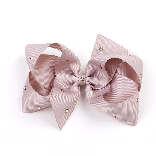 Large Classic Bow - Carmandy with Swarovski Crystals
