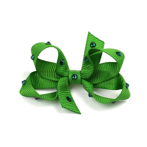 Small Bow - Classic Green