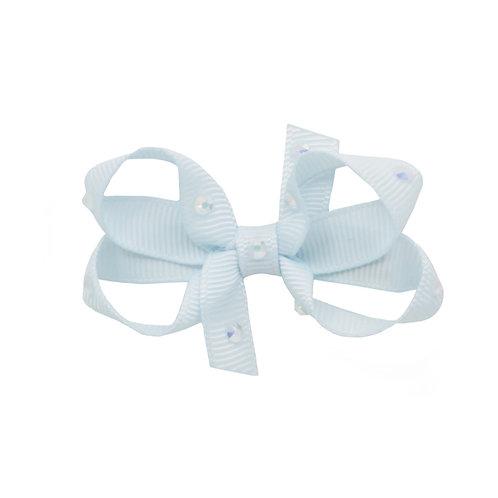 Small Bow - Blue Vapor