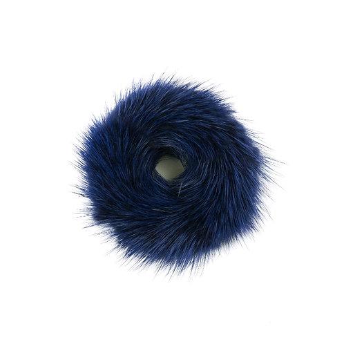 Hair Scrunchie - Navy