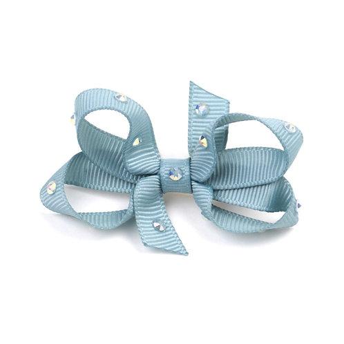 Small Bow - Nile Blue