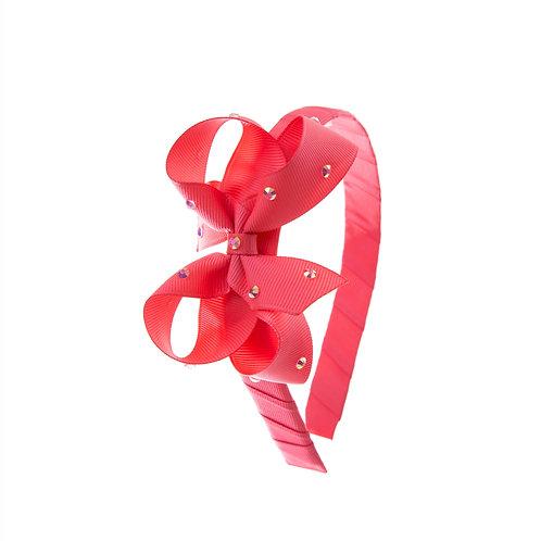 Bow Hairband - Passion Fruit