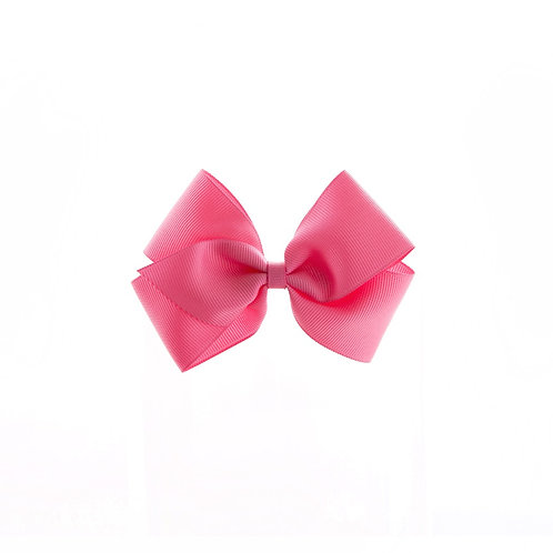 Medium London Bow - Hot Pink