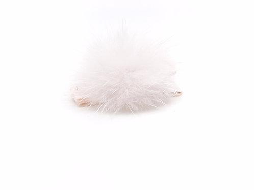 Mink Puff Hair Clip - Sideshow Rose