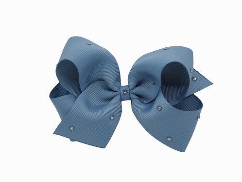 Olivia Bow - Antique Blue