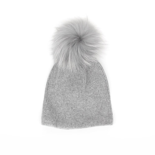 *Exclusive* Angora Single Pom Hat - 6 Years to Adult