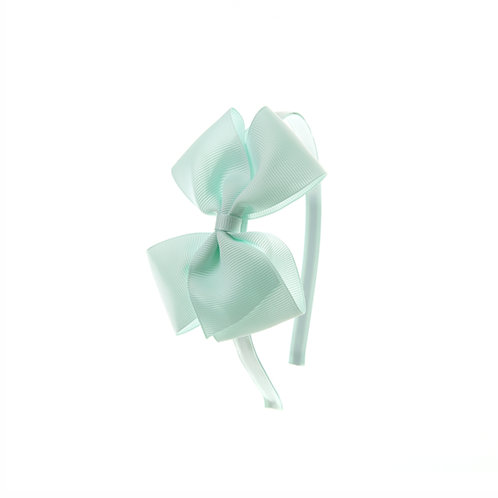 Medium London Bow Hairband - Crystalline