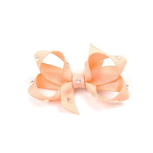 Small Bow - Petal Peach