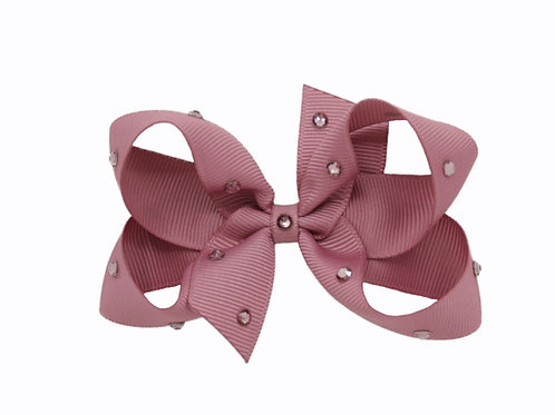 Medium Bow - Rosy Mauve