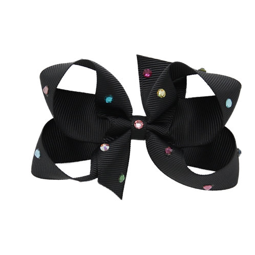 Medium Bow - Black Multi