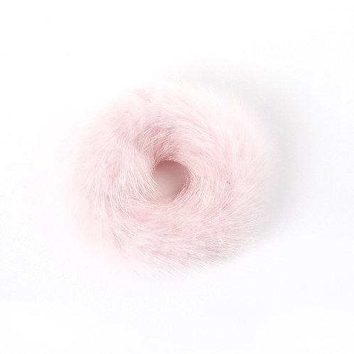 Hair Scrunchie - Powder Pink