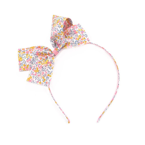 Liberty Bow Hairband - Wiltshire Bud