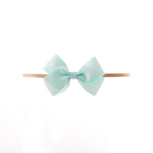 Small London Bow Soft Hairband - Crystalline