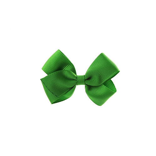 Small London Bow Hair Tie - Classic Green
