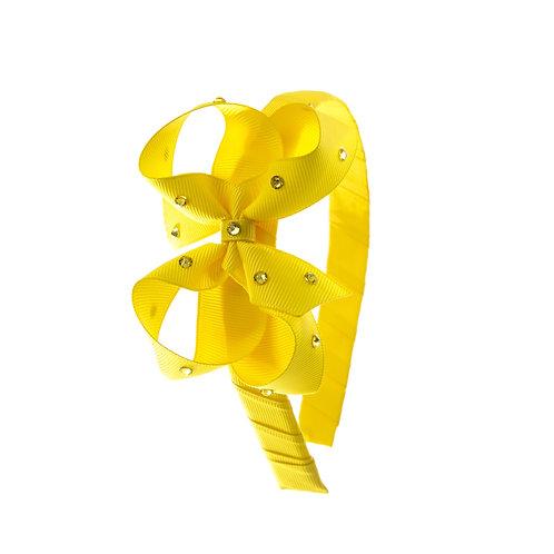 Bow Hairband - Daffodil