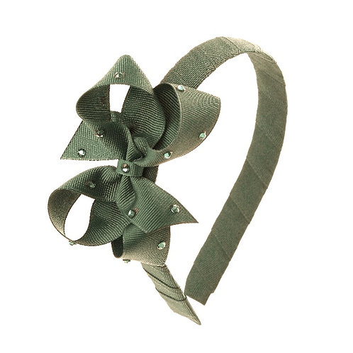 Bow Hairband - Willow