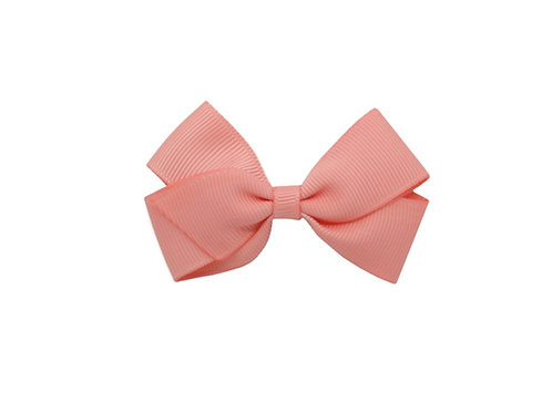 Small London Bow - Light Coral