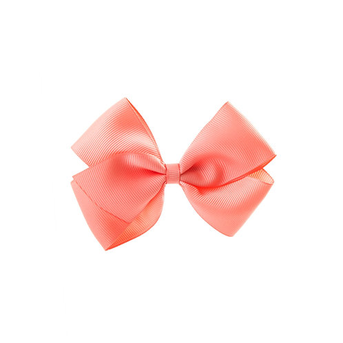 Medium London Bow - Light Coral
