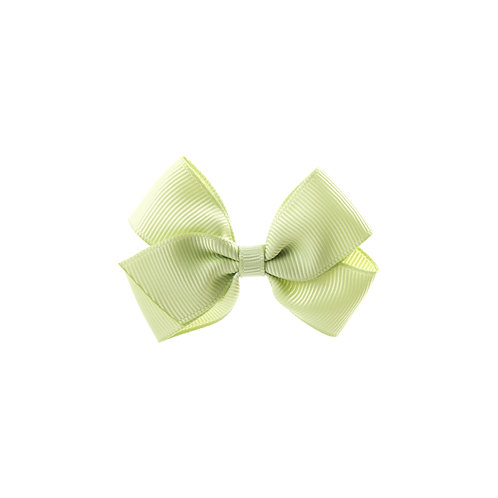 Small London Bow Hair Tie - Lime Juice