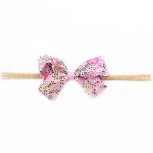 Small Paris Liberty Bow Soft Hairband - Tatum
