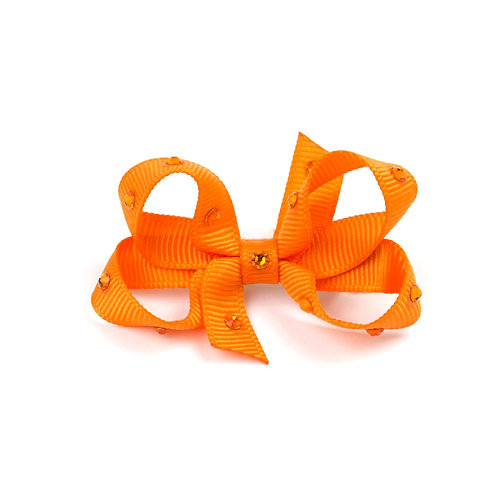 Small Bow - Tangerine