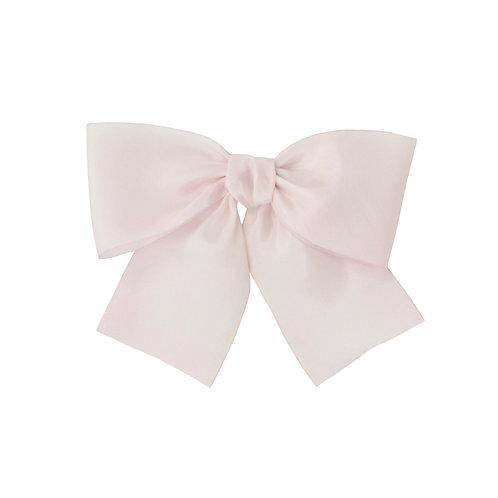 Oversized Silk Bow - Cherry Blossom