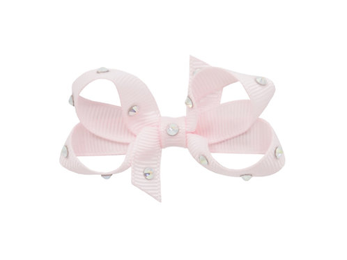Small Bow - Powder Pink