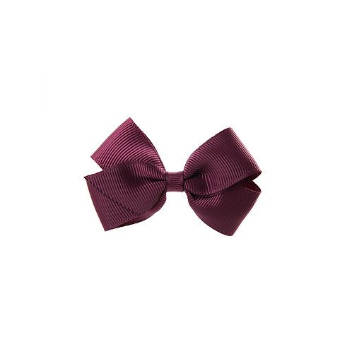 Small London Bow - Burgundy
